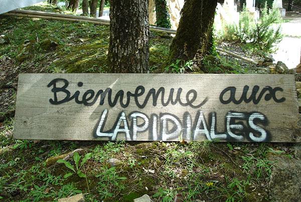 Bienvenue aux Lapidiales le 20 Juin 2020